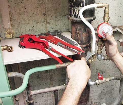 Услуги - Установка приборов учета воды